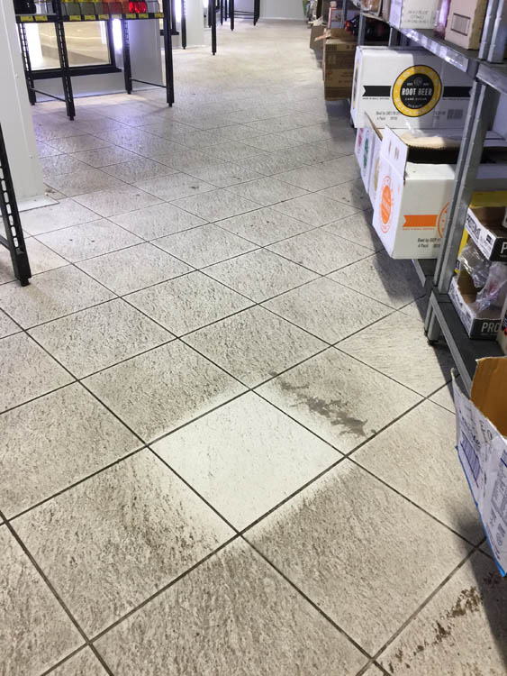 Commercial kitchen floor cleaning in Norwood