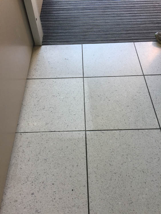 The tiles get chemical stains and we are the specialist in the restoration of any surface