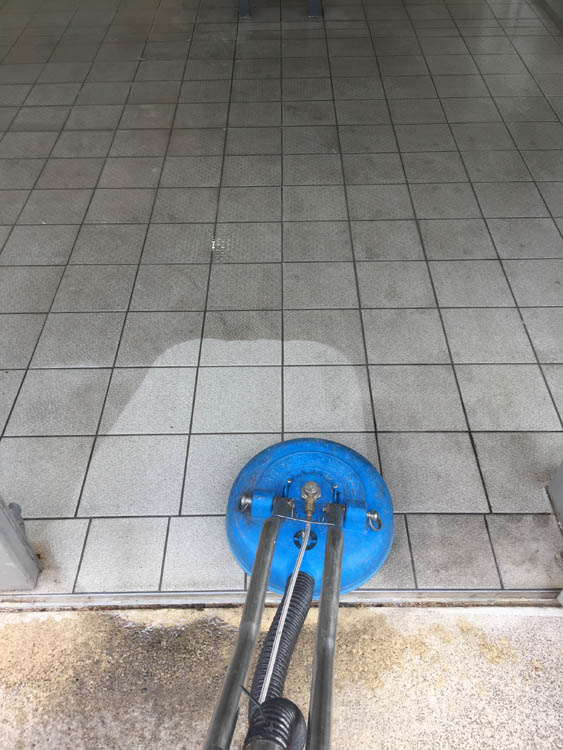 Residential tile & grout cleaning