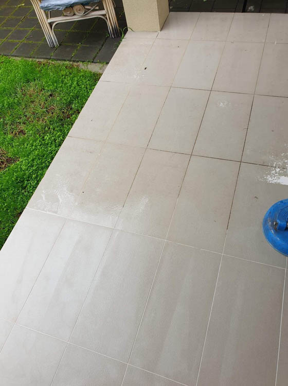 Tile and grout cleaning for $5.50 per square metre